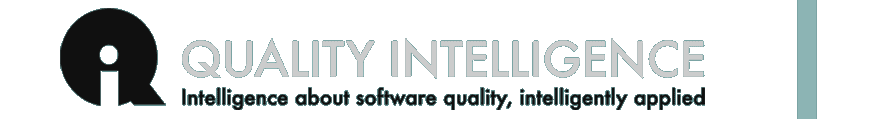 Quality Intelligence - Intelligence about software quality, intelligently applied